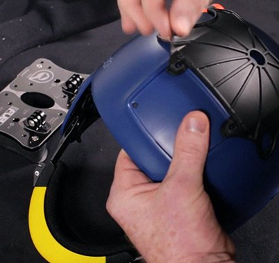 How to mount the Duel Top Plate on a Cookie Fuel helmet